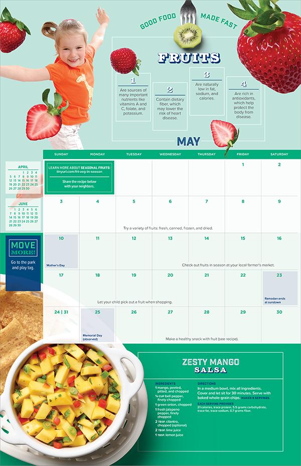 2020 WIC Calendar May